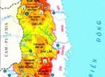 Bản đồ đất tỷ lệ 1/50.000-1/100.000 các tỉnh vùng Tây Nguyên