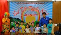 Viện QH và TKNN ươm mầm xanh tương lai nhân ngày 01 tháng 6