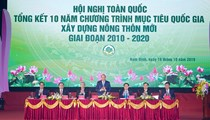 Thủ tướng chủ trì Hội nghị toàn quốc tổng kết 10 năm nông thôn mới