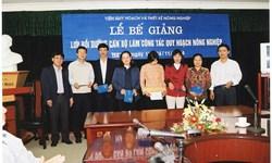 Hội nghị đại biểu cán bộ - viên chức Viện Quy hoạch và Thiết kế Nông nghiệp năm 2013