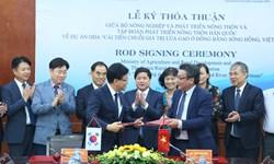 Hàn Quốc hỗ trợ Việt Nam cải thiện chuỗi giá trị lúa gạo ở đồng bằng sông Hồng