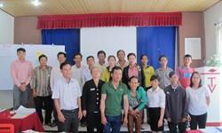 Tập huấn hòa nhập người khuyết tật cho các tập huấn viên nông nghiệp, phi nông nghiệp và khối tư nhân