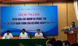 Bộ NN&PTNT triển khai các nhiệm vụ trọng tâm về cải cách hành chính 6 tháng cuối năm