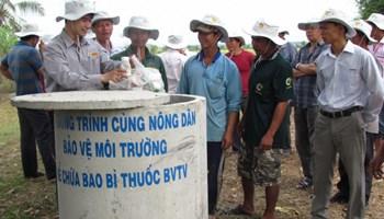 Giải pháp về kiểm soát ô nhiễm môi trường nông nghiệp, nông thôn