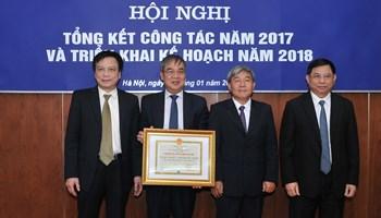 Viện quy hoạch và TKNN tổng kết công tác năm 2017 và triển khai nhiệm vụ kế hoạch hoạt động năm 2018