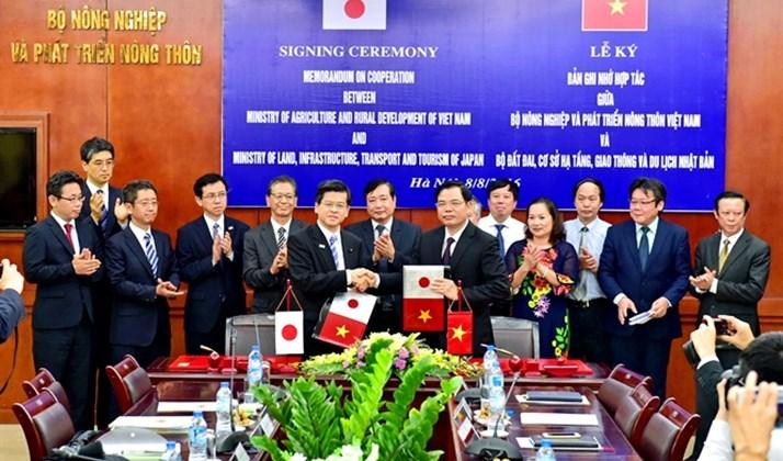 Việt Nam, Nhật Bản hợp tác trong quản lý thủy lợi