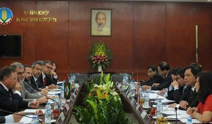 Việt Nam - Brazil đẩy mạnh hợp tác về nông nghiệp