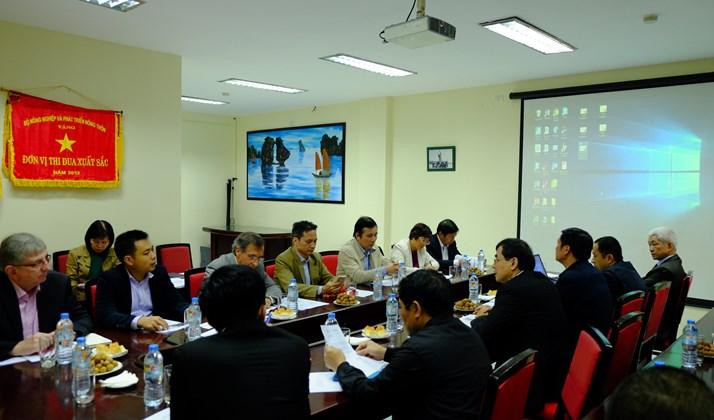 Cuộc họp Ban chỉ đạo dự án RIICE lần thứ hai