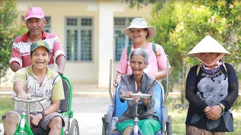 Phim Dự án hòa nhập người khuyết tật trong giảm nhẹ rủi ro thiên tai và đa dạng hóa thu nhập tại thành phố Kon Tum