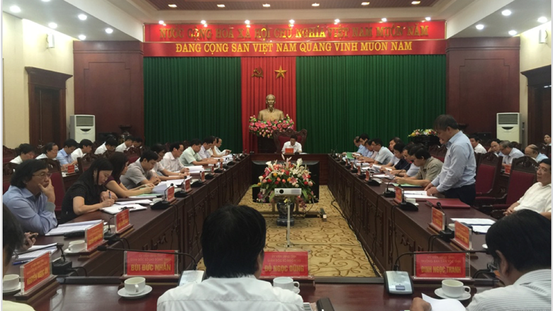 Conference on Livestock Development Planning of Phu Tho province to 2020 and vision to 2030.