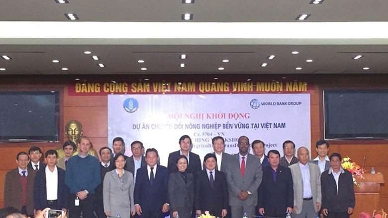 Hội nghị khởi động dự án VnSAT - Chuyển đổi nông nghiệp bền vững