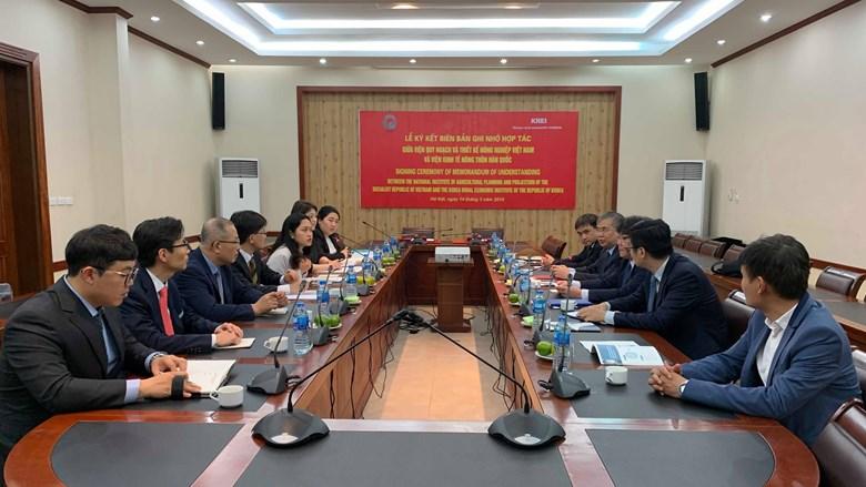 Việt Nam - Hàn Quốc tăng cường hợp tác phát triển nông nghiệp