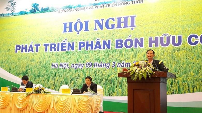 Bộ trưởng Nguyễn Xuân Cường: Sử dụng phân bón hữu cơ là một xu hướng tất yếu
